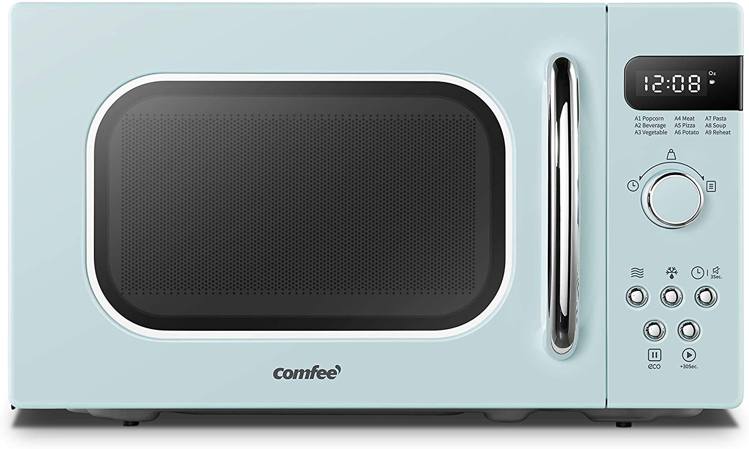COMFEE' AM720C2RA-G Retro Countertop Microwave Review