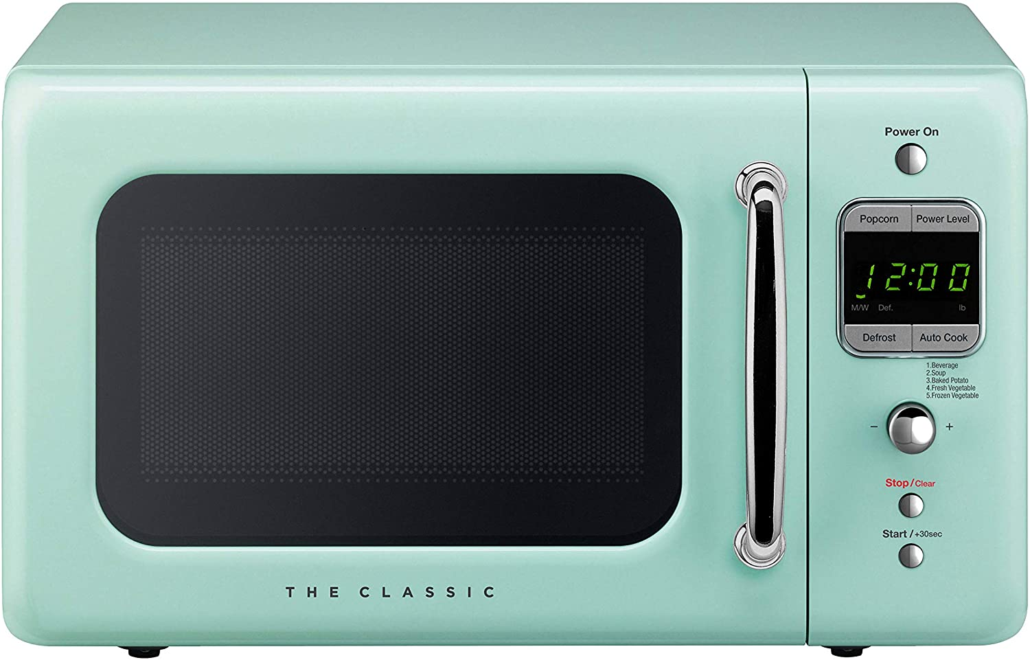 Daewoo Kor7-LREM Retro Countertop Microwave Oven 0.7 Cu. Ft, 700W I Mint Green Review
