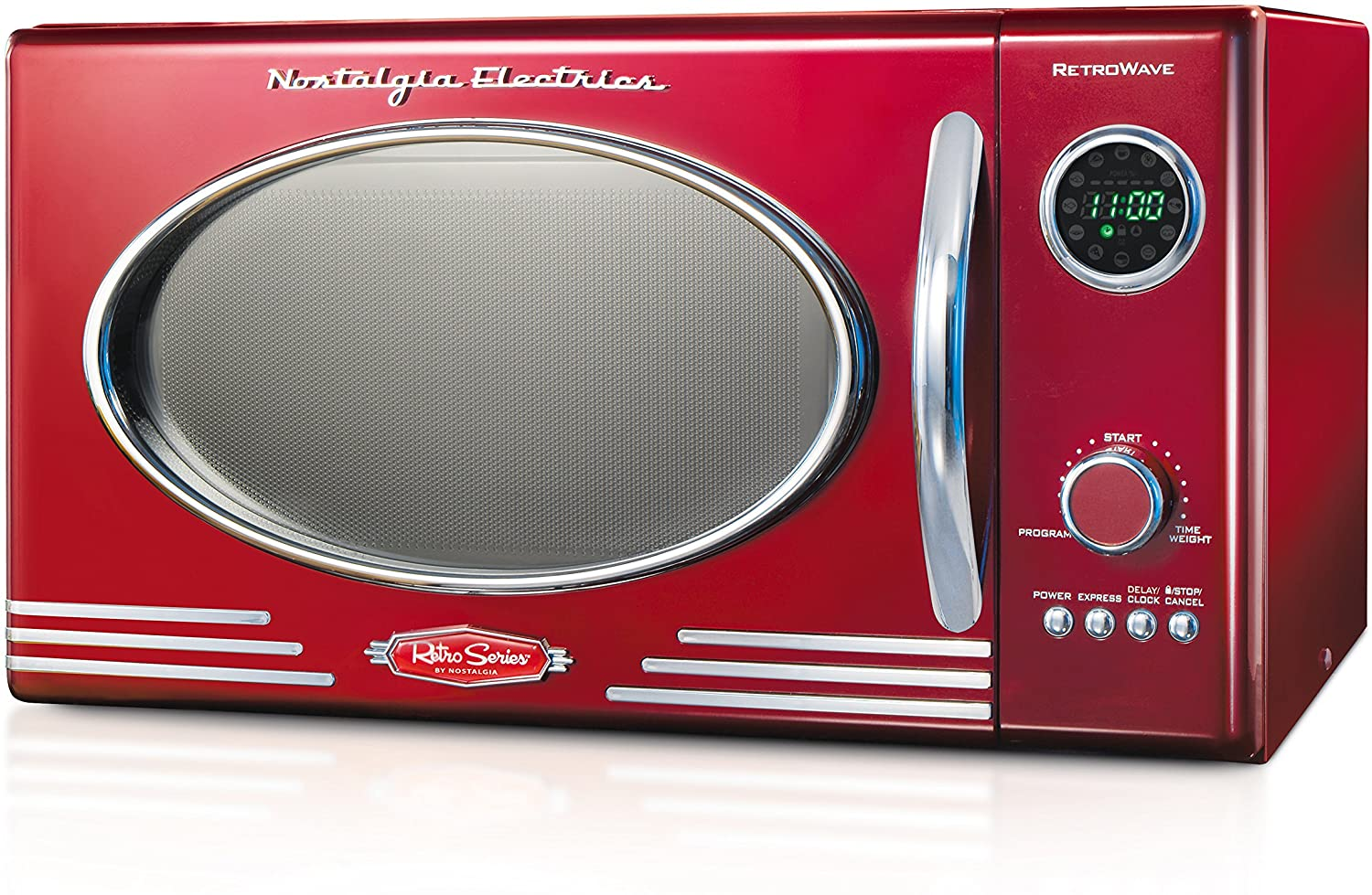 Nostalgia RMO400RED Retro 0.9 Cubic Foot Microwave Review