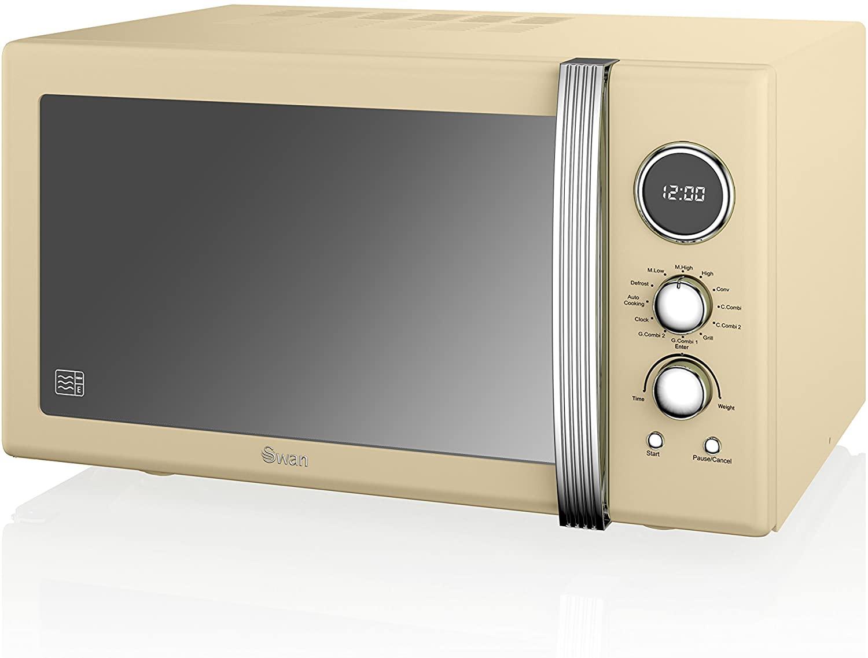 Swan SM22080CN Retro Digital Combi Microwave Review